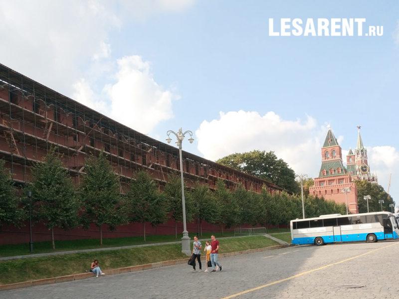Кремлевская стена. 2019 г.