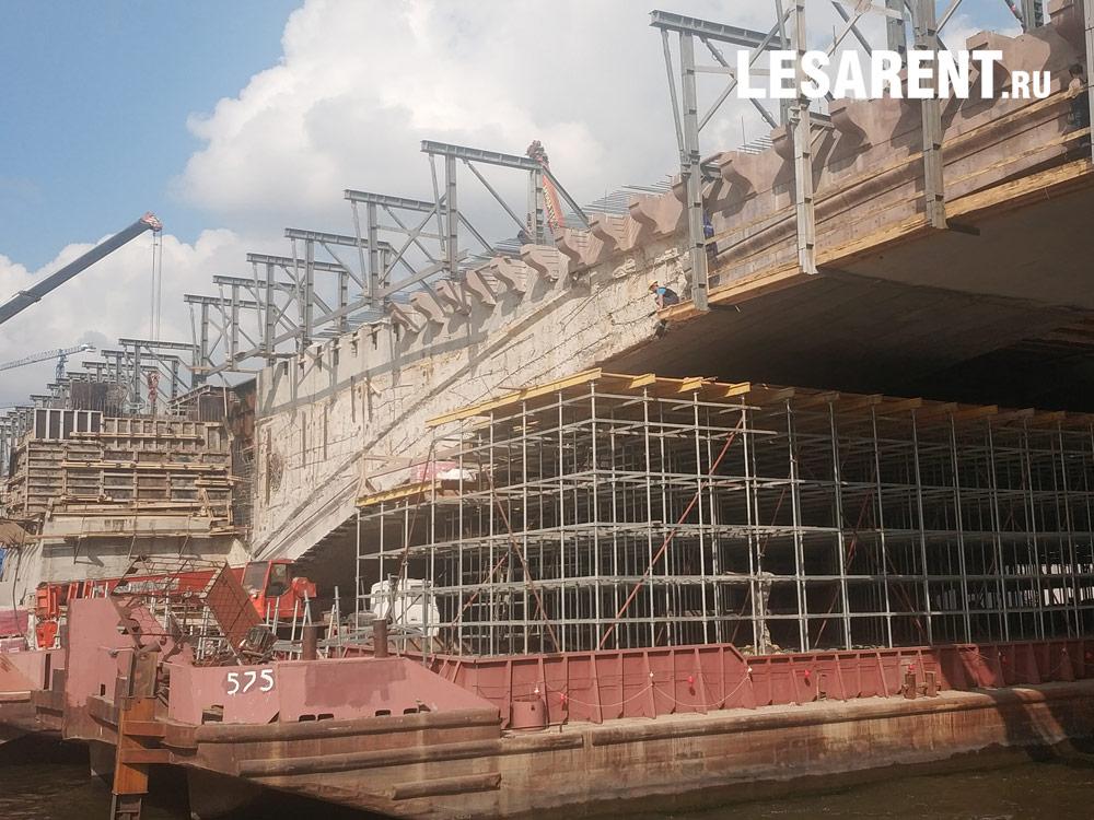 Большой Москворецкий мост. 2019 г.